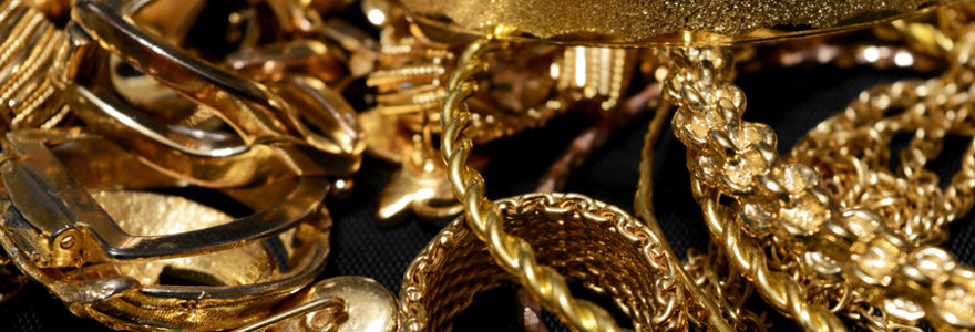 Bijoutier en or