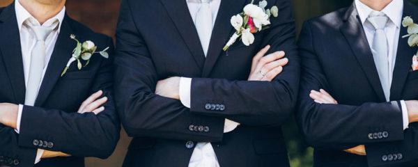 Costume pour mariage ou business