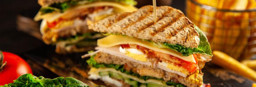Choisir des sandwichs